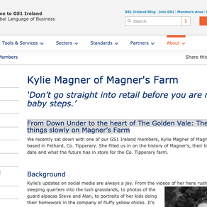 From Down Under to the heart of The Golden Vale: The joy of taking things slowly on Magner's Farm