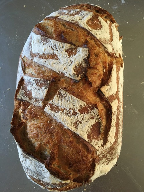 Limetree Rye Sourdough Bread