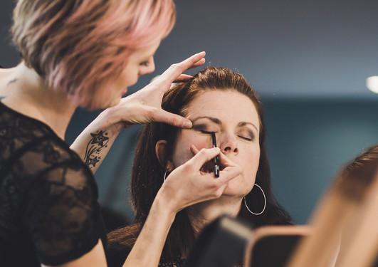 Atelier maquillage au Studio