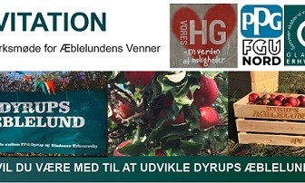 Invitation: Vil du være med til at udvikle Dyrups æblelund?