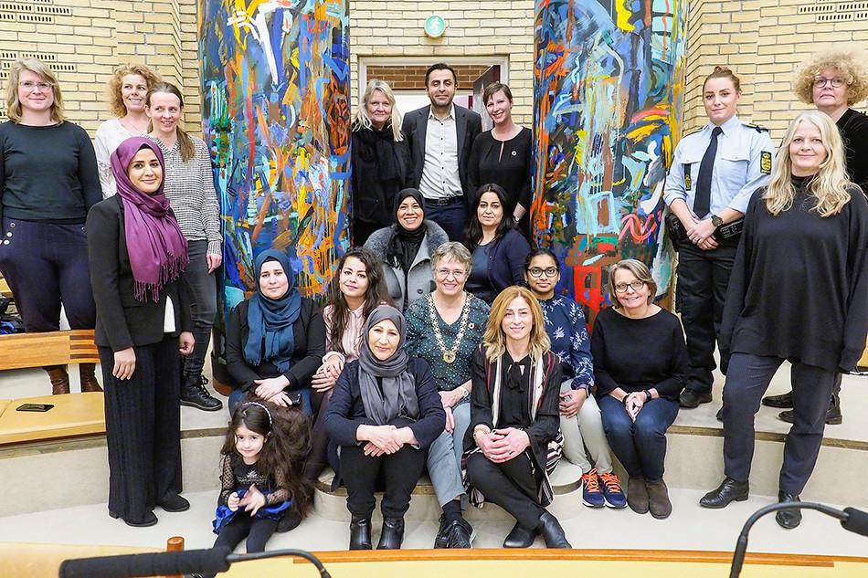 Diplomoverrækkelse på Rådhuset december 2018