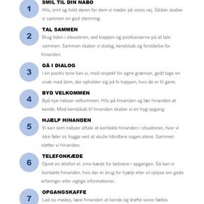 Alt det vi kan gøre sammen: Beboernes gode råd fra beboermødet d. 3. oktober
