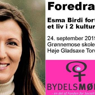 Gratis foredrag 24.9.19: Esma Birdi fortæller om et liv i 2 kulturer
