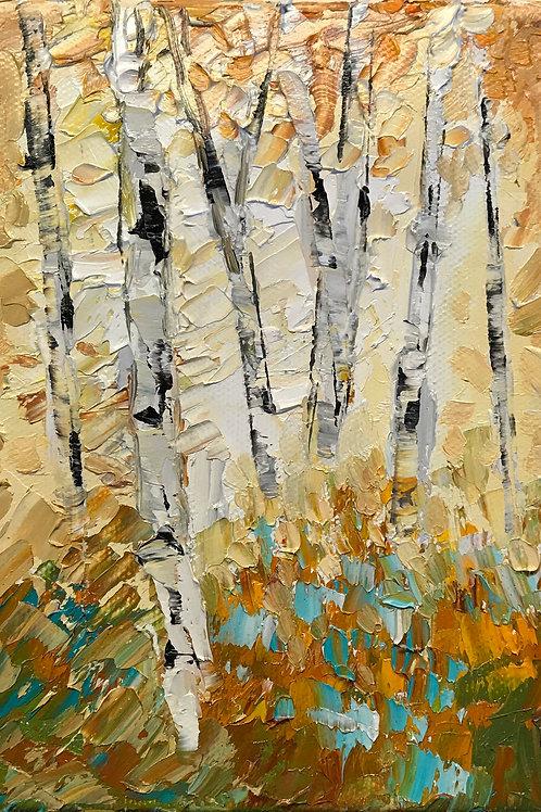 """'Break of Dawn' 7h x 5w"""" canvas"""
