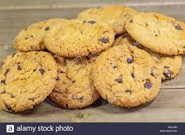 Alamy stock photo chocolate chip cookie
