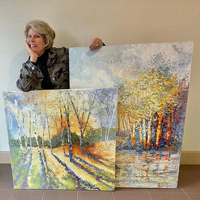 Kate Moynihan w two paintings.jpg