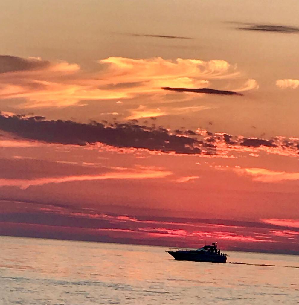 Sunset Lake Michigan, Holland, MI