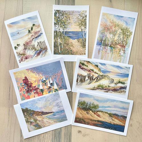 Shoreline Note Cards