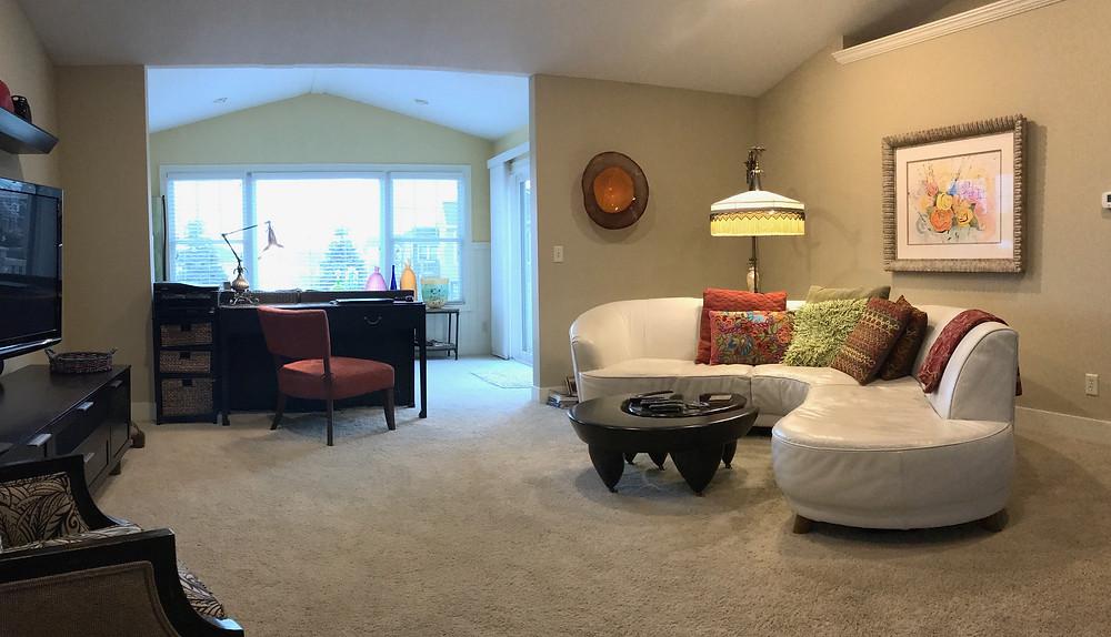 Living room of Kate Moynihan Artist