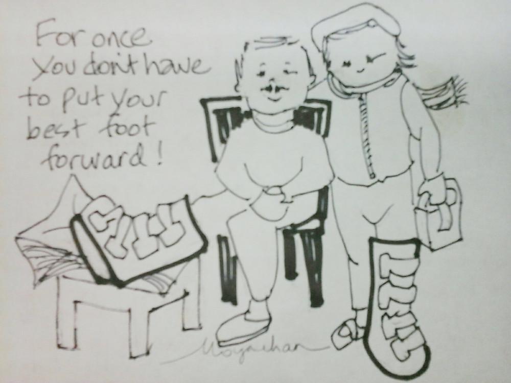 humor cartoon to make you laugh by Kate Moynihan