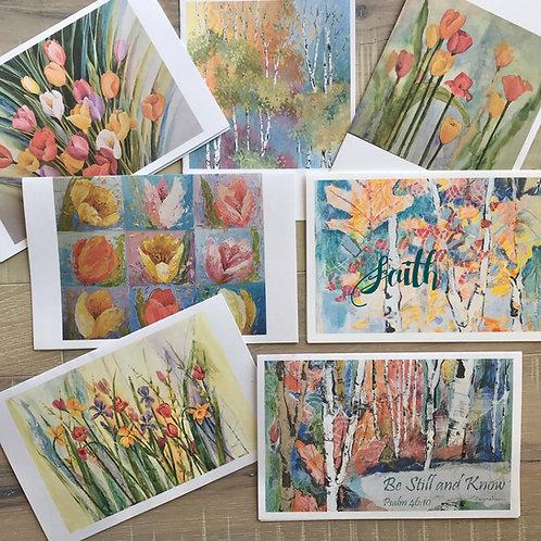 'Colors of Sherbert' Notecards