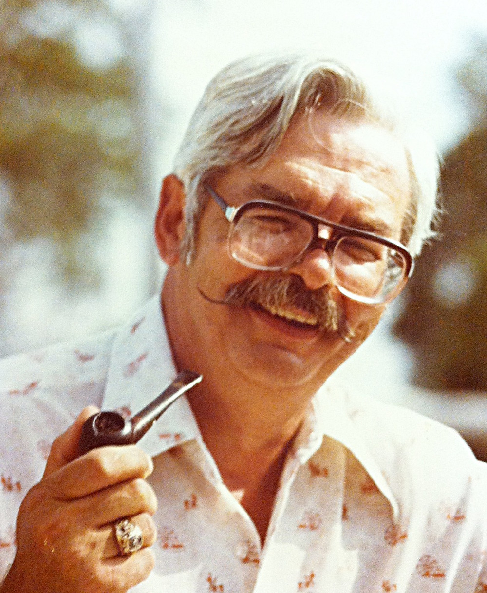 Old family photograph of Kate Monihan's dad, Alan Schroeder. An artist's father was inspiration.