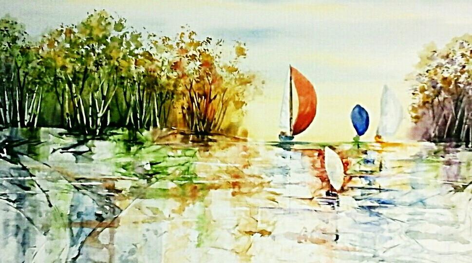 Original watercolor by www. Kate Moynihan Artist .com
