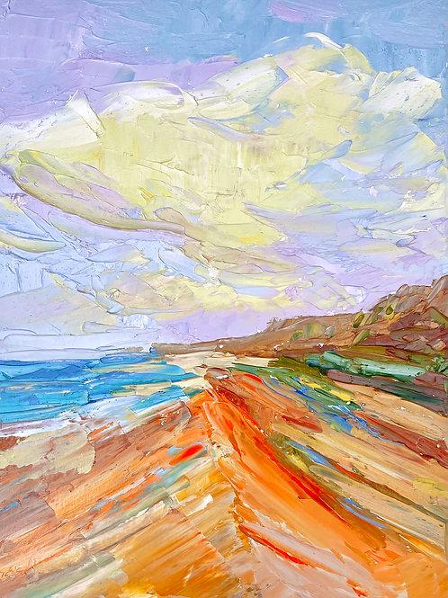 "'Cloud Nine' 12h  x 9w"" - canvas"