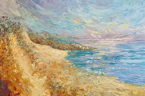 """Along the Shore- 30 x 40"""""""