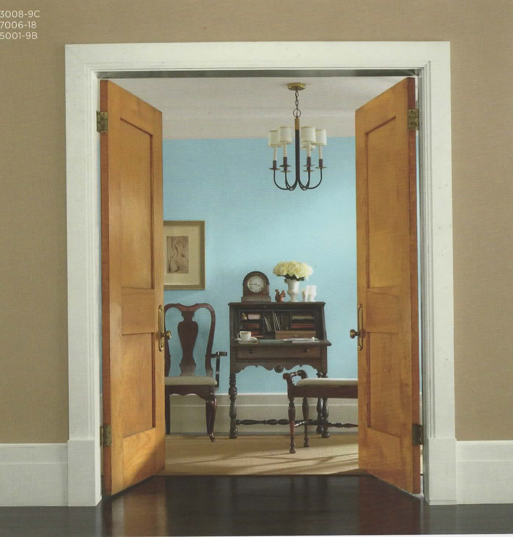 Inspiration room setting by Valspar paint - Lowes