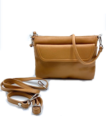 Triple Bounty Crossbody Bag -  Click to view more color options - Cow L