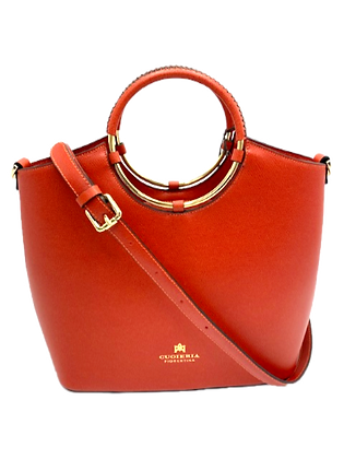 Oblo' Tote Bag - Click to view more color options - Cow Leather
