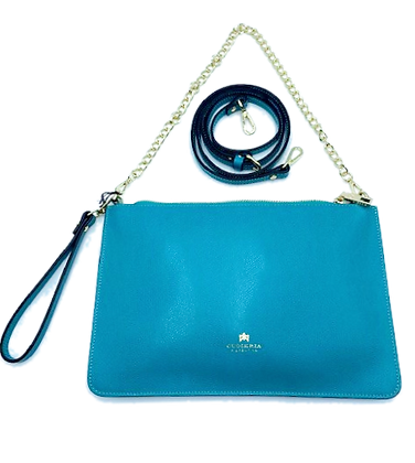 Maxi Clutch - Click to view more color options - Cow Leather