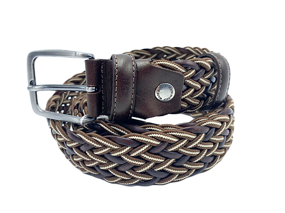 Briaded Belt - Cow Leather