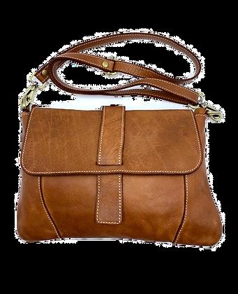 Vintage Flap Bag - Cow Leather