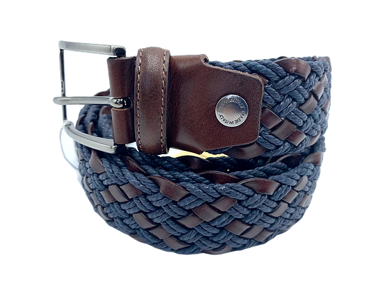 Braided Belt - Cow Leather