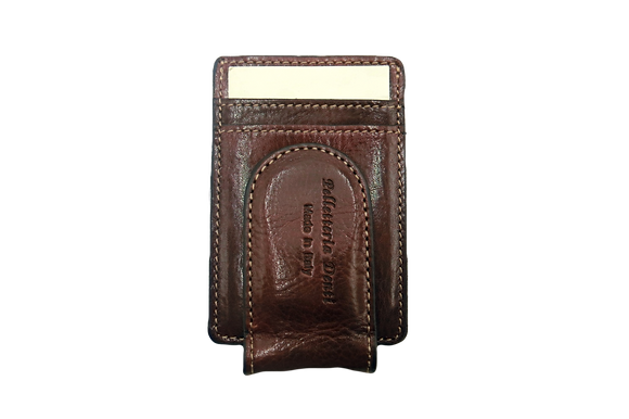 Piona -Money Clip - Click to view more color options - Cow Leather