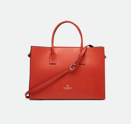 Alice Big Tote Bag - Cow Leather