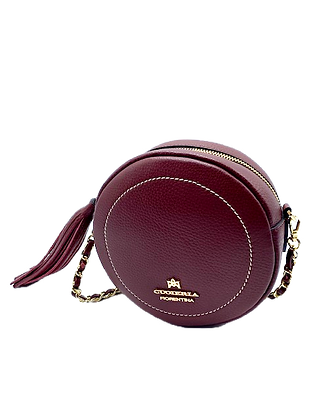 Round Bag/Fanny Pack - Cow Leather - Click here to view more color options
