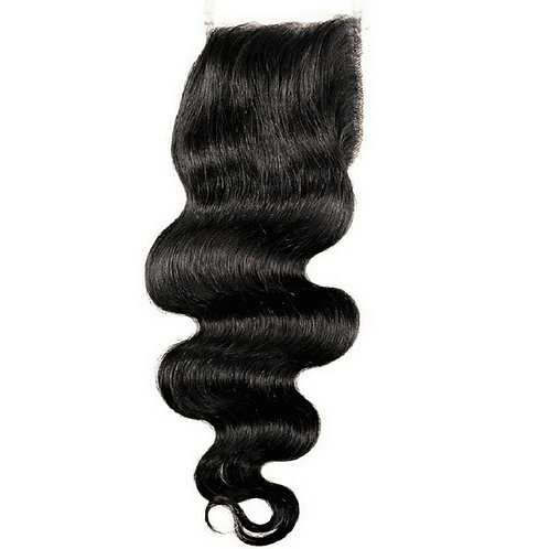 BRAZILIAN BODY CURL CLOSURE 12""