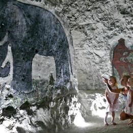 Summer holiday fun at the Caves