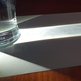 Light bending experiment