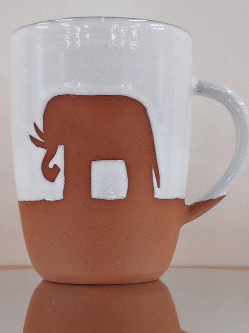 Exclusive Violet Shaw Elephant Mug