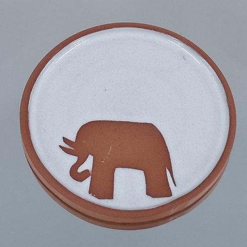 Exclusive Violet Shaw Elephant Coaster