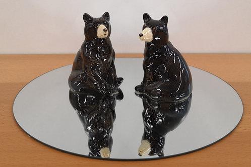 Ceramic Bear Cruet Set