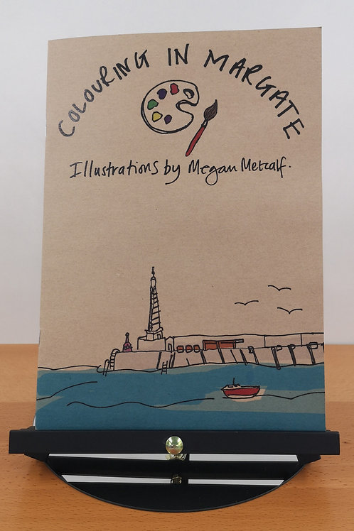 Exclusive- Megan Metcalf Colouring Book