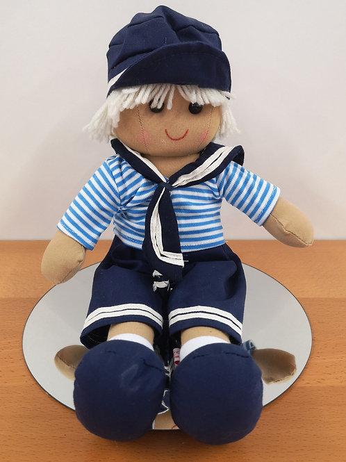 Sailor Boy Rag Doll