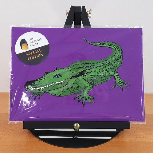 Exclusive Megan Metcalf Crocodile Print