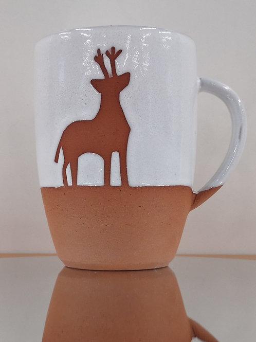 Exclusive Violet Shaw Deer Mug