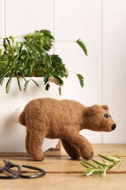 Bear Felting Kit