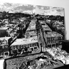 Cityscape work in progress