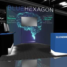 Blue Hexagon 10' x 10'