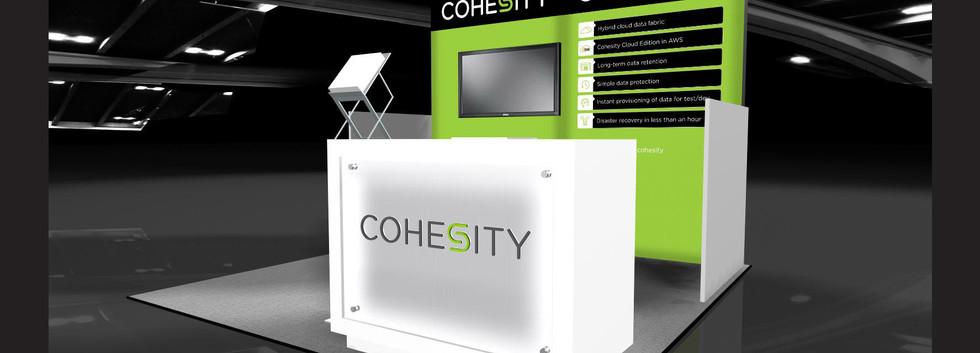Cohesity 10' x 10'