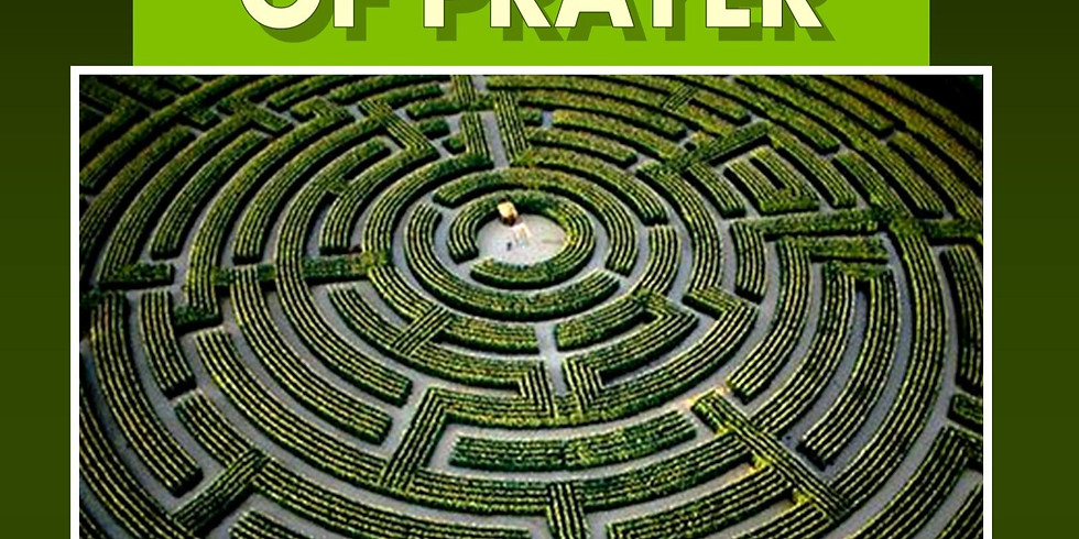 World Day of Prayer: Labyrinth available 2pm-7pm, Taize Worship 7pm