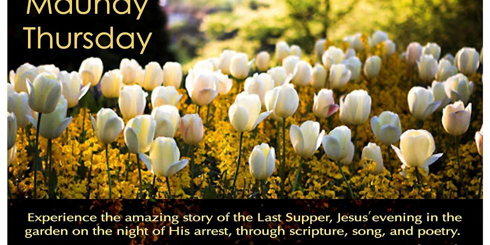 Maundy Thursday at Riverview Presbyterian Church