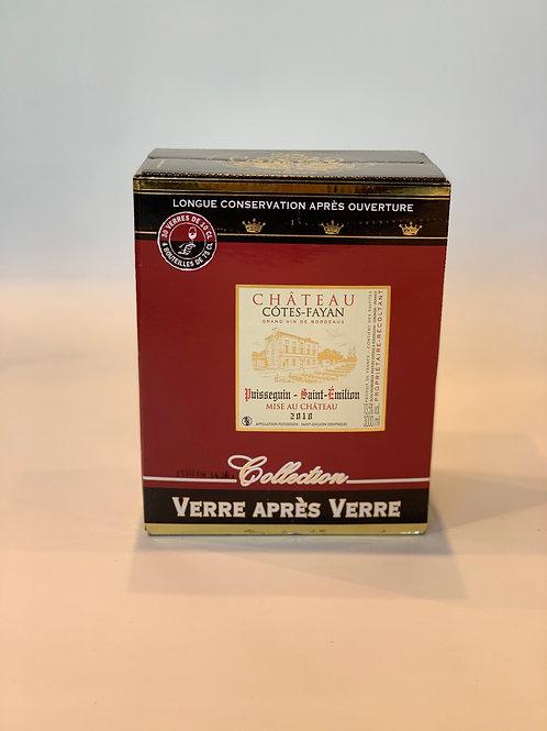 AOC PUISSEGUIN ST EMILION 2018, Château Côtes Fayan