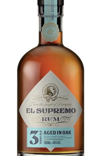 EL SUPREMO - RHUM VIEUX - 3 ANS - 70CL - 40°