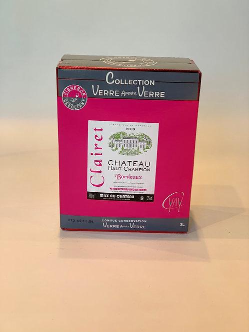 AOC Bordeaux Clairet - Château Haut Champion Clairet