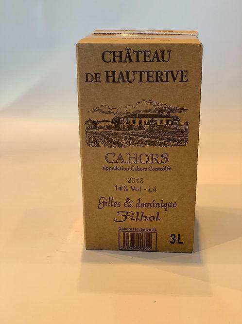 AOP CAHORS - Chateau de Hauterive 2018 (