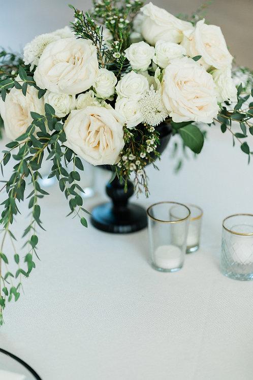 Medium rose centerpiece